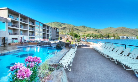 Stay at Grandview on the Lake in Chelan, WA. Dates into April.