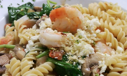 Italian Cuisine at D'oro Palazzo Lakeland (Up to 53% Off). Three Options Available.