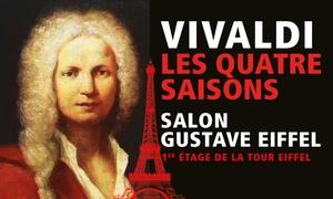Euromusic: Concert de musique classique au 1er étage Tour Eiffel, option champagne, dates au choix, dès 49 €