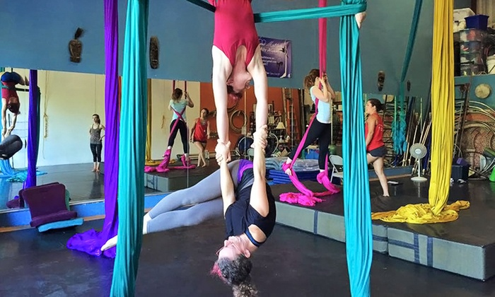 Suspended Motion - San Luis Obispo: One Teaser Class or Three Aerial Classes at Suspended Motion (Up to 48% Off)