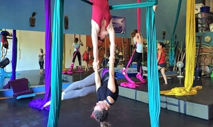 Suspended Motion: One Teaser Class or Three Aerial Classes at Suspended Motion (Up to 48% Off)
