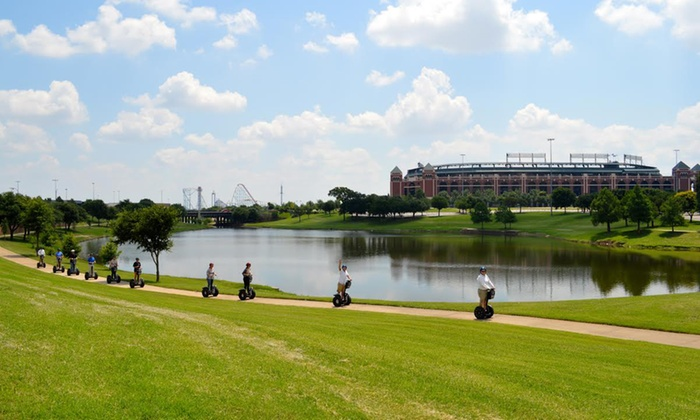 Segway Fort Worth - Arlington: 90-Minute Entertainment District Segway Tour for One, Two, or Four from Segway Fort Worth (Up to 56% Off)