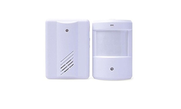 Wireless Motion Sensor Detector Door Entry Bell: One ($19) or Two ($33)
