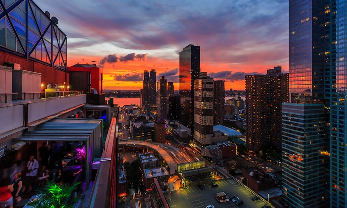 Sky Room - Sky Room Times Square: $39 for Rooftop Cocktails and Appetizers for Two at Sky Room ($92 Value)