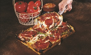 Shield's Pizza : Pizza, Salads, Pasta, and Other American Favorites at Shield's Pizza (Up to 47% Off). Two Options Available.