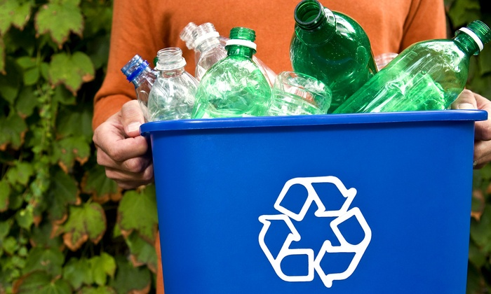 EarthSavers - Nashville: Six Months of Curbside Recycling Pickup Once or Twice a Month from EarthSavers (Up to 56% Off)