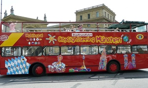 City Sightseeing: 24 Std. Hop-on-Hop-off-Ticket für alle Sightseeing-Touren für 1, 2 od. 4 Pers. von City Sightseeing (bis zu 56% sparen*)