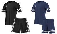 Adidas Entrada 14 Sports T-Shirt and Shorts Set for €26.99 With Free Delivery