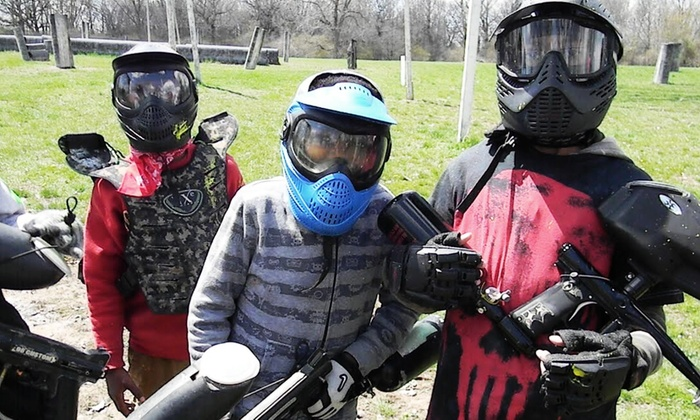 The Badlandz Paintball Field - Crete: $145 for a Paintball Day Camp at The Badlandz Paintball Field ($245 Value)