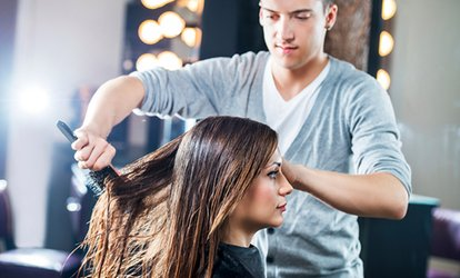 Hair Pamper Package at Zeus Hair Beauty and Aesthetics Emporium (Up to 49% Off)