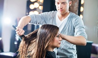 Wash, Cut and Blow-Dry with Conditioning and Optional Half Head of Highlights at Vanity Hair (Up to 56% Off)
