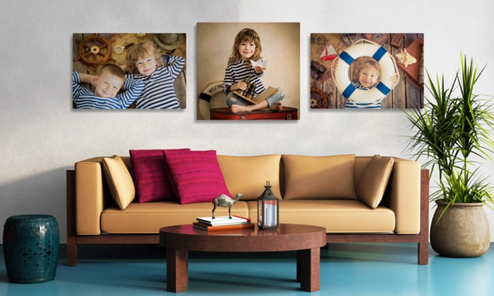 Personalised photo canvas deals