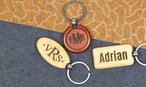 Monogram Online: $5 for a Personalized Keychain from Monogram Online ($12.99 Value)