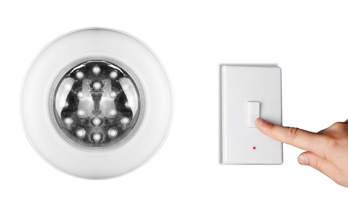 Applique a led con interruttore groupon goods