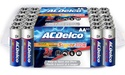 60-Pk. ACDelco Re-Closeable AA or AAA Batteries