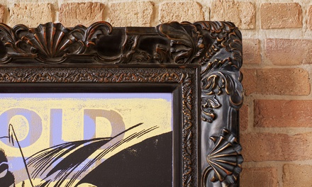 Custom Framing or Archival Photo and Fine Art Printing at Grapheteria, Inc. (Up to 52% Off)