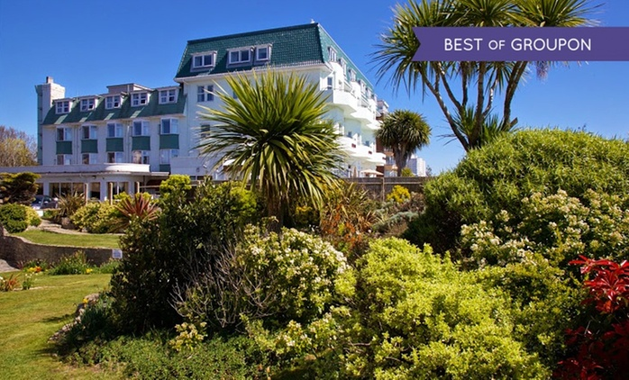Bournemouth: 1 or 2 Nights for Two with Breakfast, Leisure Access and Optional Dinner at Hallmark Hotel East Cliff Court