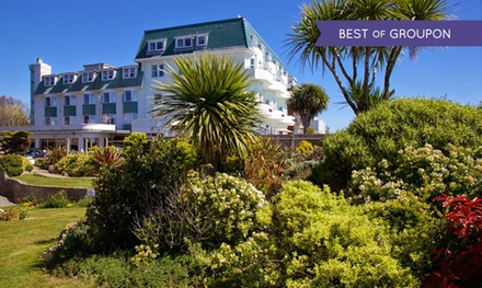 Bournemouth: 1 or 2 Nights for Two with Breakfast and Option for Dinner at 4* Hallmark Hotel East Cliff Court