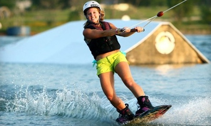 Texas Ski Ranch - Between San Marcos and New Braunfels: Four Hours or One Day of Cable-Lake Watersports for Two, or Three Months for One at Texas Ski Ranch (Up to 54% Off)