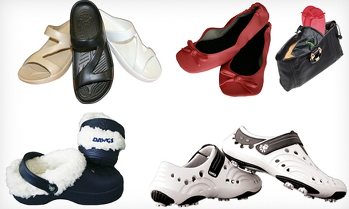 DAWGS: $25 for $50 Worth of Footwear and Accessories from DAWGS