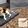 Memory Foam Crate Mat in Charcoal, Brown, Taupe, or Navy