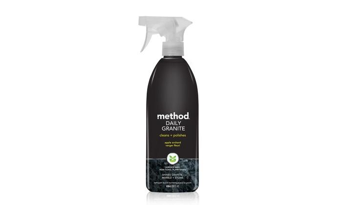 Method Daily Granite Cleaner (8-Pack): Method Daily Granite Cleaner in Apple Orchard Scent; 8-Pack of 28 fl. oz. Bottles + 5% Back in Groupon Bucks