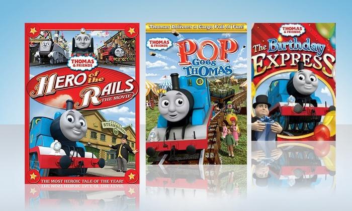 Thomas & Friends DVD 3-Pack: Thomas & Friends DVD 3-Pack. Free Returns.