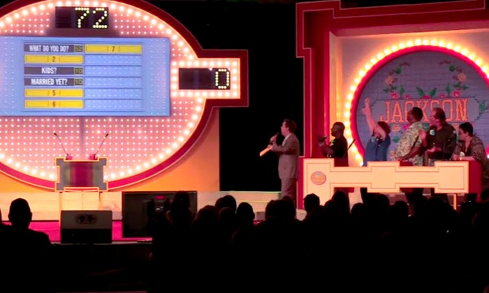 Family Feud - Live Stage Show - Sands Bethlehem Events Center: Family Feud – Live Stage Show at Sands Bethlehem Event Center  on May 3 at 3 p.m. or 7:30 p.m. (Up to 51% Off)