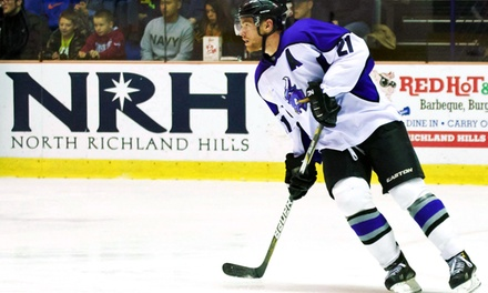 Lone Star Brahmas Hockey Games Through April 9