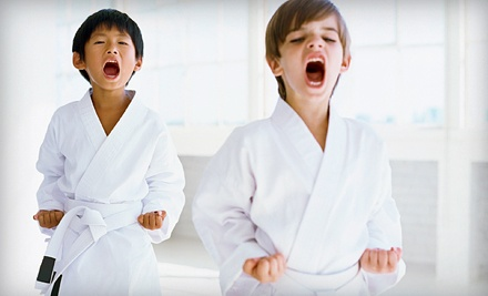 One-Week Karate Summer Camp for One or Two Kids at Eagle Martial Arts (Up to 67% Off)