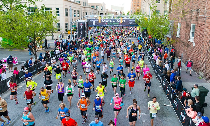 Rock 'n' Roll Marathon - Raleigh Convention Center: Rock 'n' Roll Raleigh Marathon and Half Marathon on Sunday, April 10th, 2016 and 5K on Saturday, April 9th