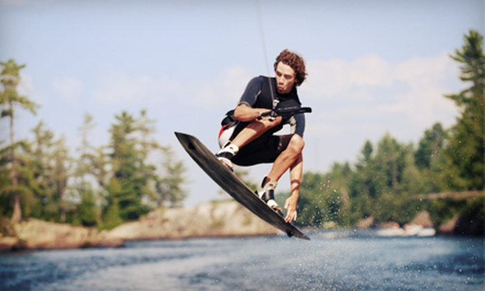 Wake Nation Houston - Alvin-Pearland: Two-Hour or All-Day Wakeboarding Pass with Rental Equipment at Wake Nation Houston (Up to 54% Off)