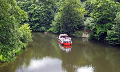 image for Durham River Boat Cruise For Two or Four at Prince Bishop River Cruiser