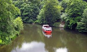 Prince Bishop River Cruiser: Durham River Boat Cruise For Two or Four at Prince Bishop River Cruiser