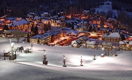 1-Night Stay with Option for Two Ski-Lift Tickets at Crystal Mountain in Northern Michigan from Crystal Mountain - Crystal Mountain, MI