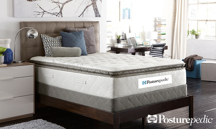 Sealy Posturepedic Plush Euro Pillowtop Mattress Set: Sealy Posturepedic Plush Euro Pillowtop Mattress Set. Multiple Sizes from $499.99–$899.99. Free White Glove Delivery.