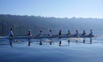 One Three-Hour Rowing Class at Sammamish Rowing Association (50% Off)