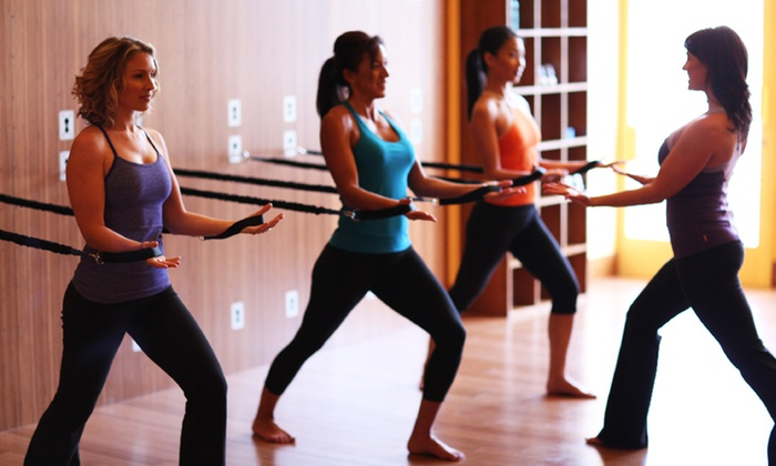 Elevate Group Fitness - Multiple Locations: Four or Eight Drop-In Classes at Elevate Group Fitness (Up to 61% Off)