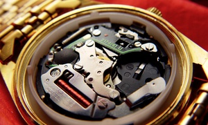 Russian Gold Jewelers: $50 for $100 Worth of Watch or Jewelry Repairs at Russian Gold Jewelers