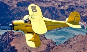 West Air Aviation: 30- or 60-Minute Tour of Las Vegas in Iconic Airplane for Up to Three at West Air Aviation (Up to 50% Off)