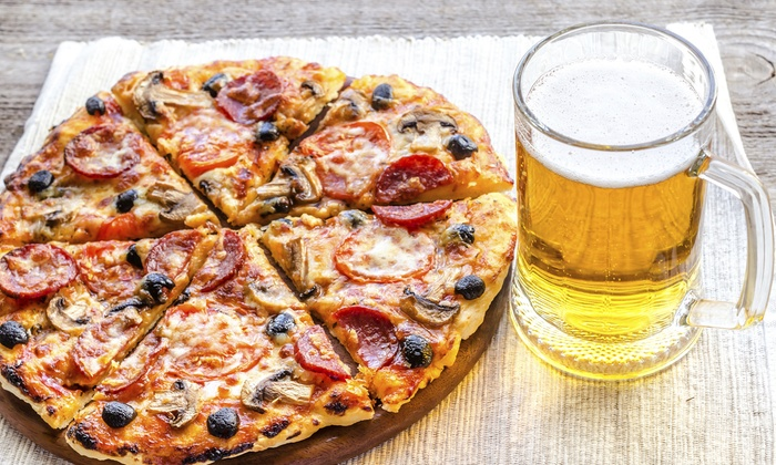 Vines on Church - Middletown: Wine or Beer with Appetizers for Two or Four, or One or Two Cheese Pizzas at Vines on Church (Up to 50% Off)