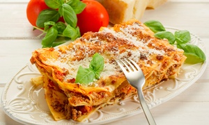 Bellissimo Ristorante: Italian Food for Dine-In or Carry-Out at Bellissimo Ristorante (Up to 50% Off)