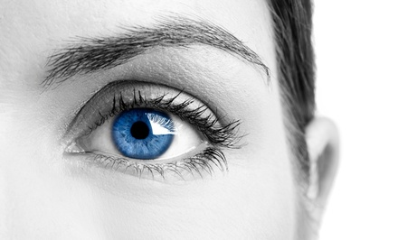 $49 for Eye Exam, Digital Retinal Scan, and Eyeglasses Credit at Excel Eyecare Professionals ($400 Value)