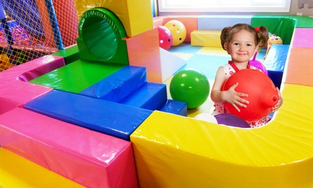 One, Two, Four, or Six IndoorPlayground Sessions at Explore Center (Up to 50% Off)