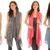 Lyss Loo Women's Sleeveless Slimming Cardigan