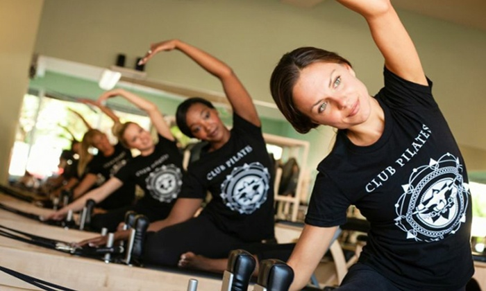 Club Pilates - Multiple Locations: $45 for Five Pilates Classes at Club Pilates ($85 Value). Three Locations Available.
