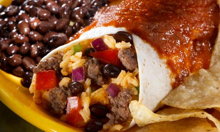 Taqueria Vallarta - Multiple Locations: Mexican Food at Taqueria Vallarta (Up to 48% Off). Two Options Available.