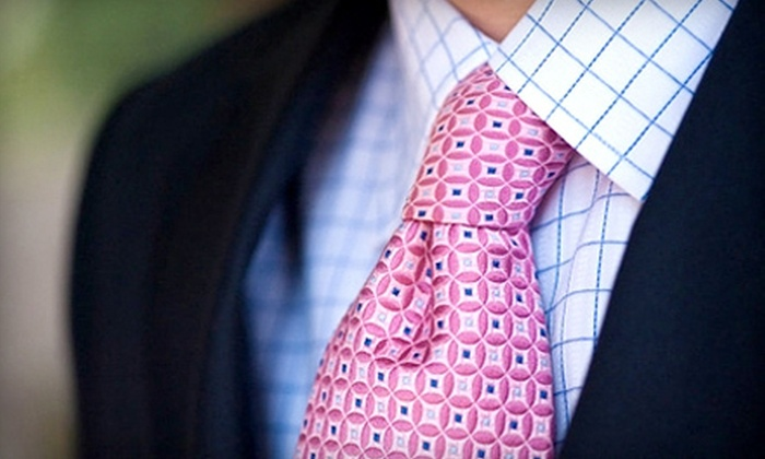 Valentin's Clothiers & Bespoke Tailoring - Pittsford: Custom-Tailored Menswear Packages from Valentin's Clothiers & Bespoke Tailoring (Up to 55% Off). Two Options Available.