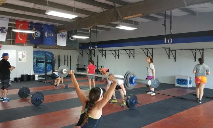 Crossfit Realm - Northwest Austin: Four Weeks of Unlimited CrossFit Classes at CrossFit Realm (66% Off)