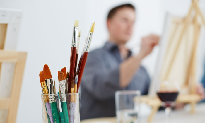 Byob Nude Painting Classes Color Cocktail Gallery Groupon